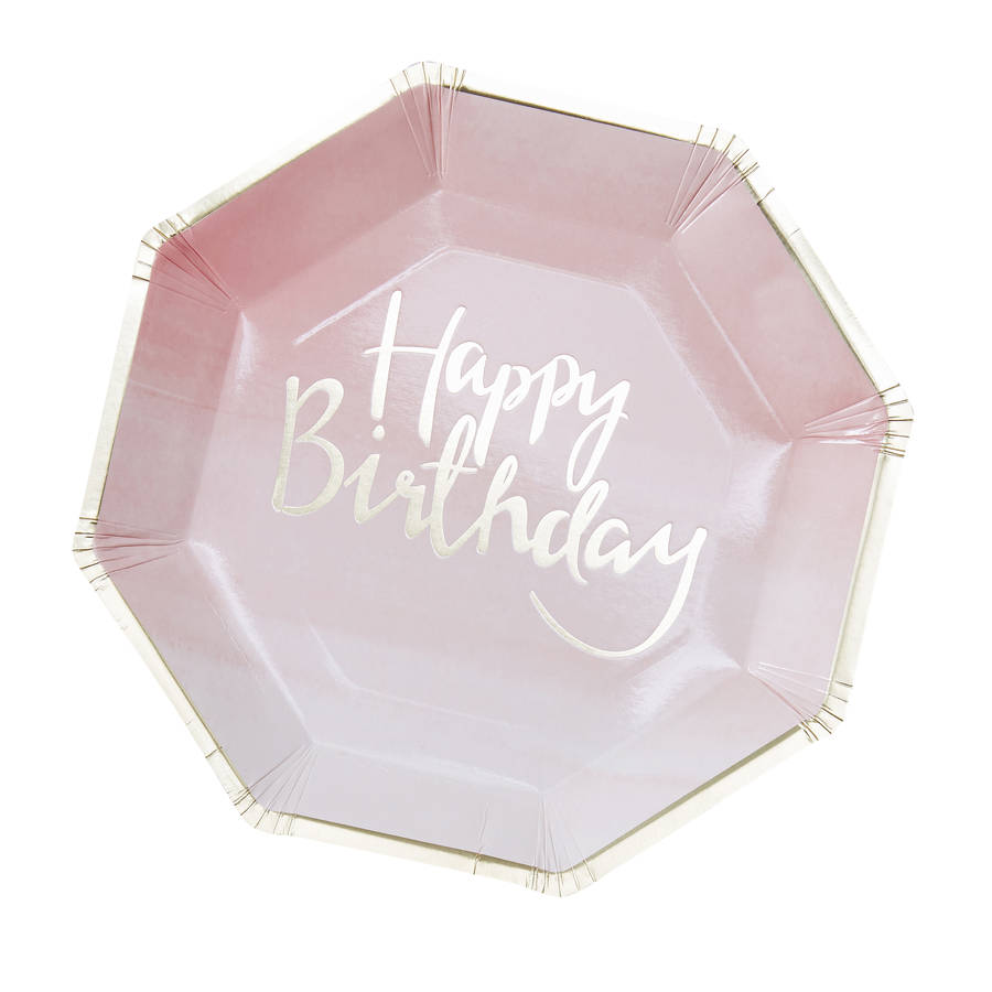 Pick Mix Rosa HAPPY BIRTHDAY