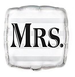 Balão Casamento MRS.
