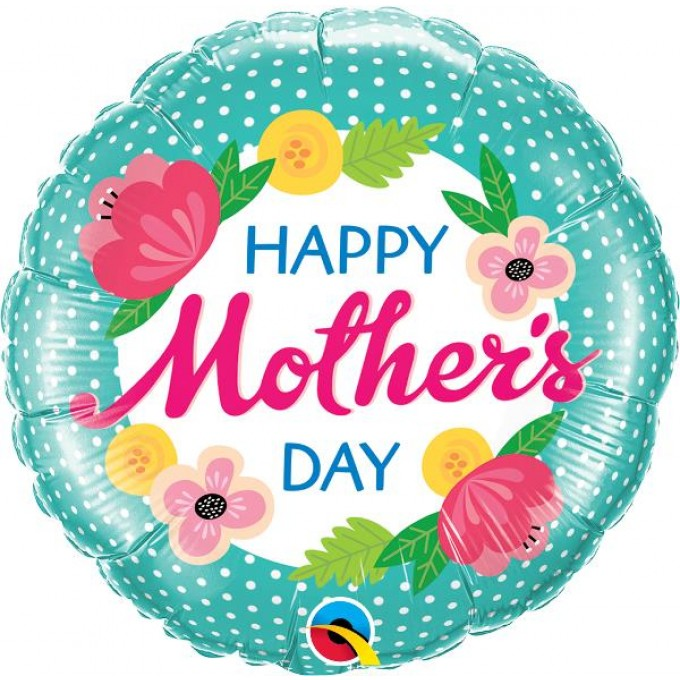 "Balão Dia da Mãe ""HAPPY MOTHER'S DAY"""