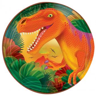 Pratos Dinossauros - 18cm