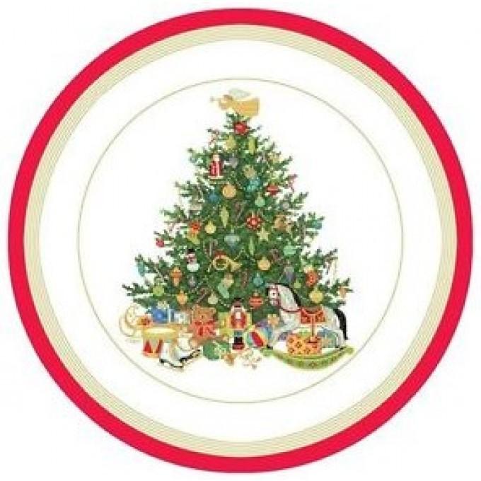 Pratos Árvore De Natal Com Brinquedos