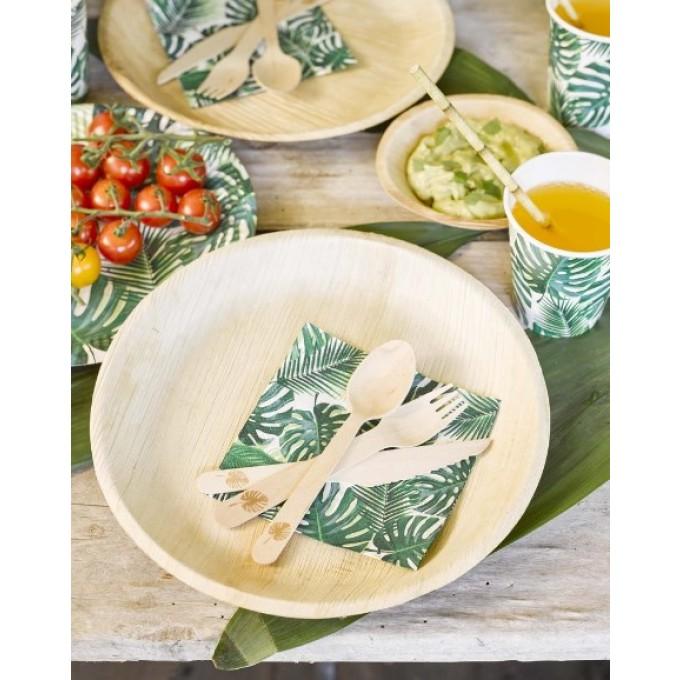 Pratos Palmeira - Pack 6