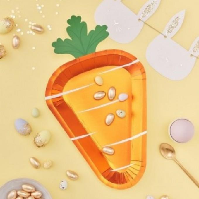 Cenoura Pratos - Pack 8