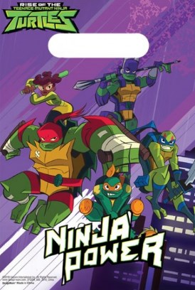 Tartarugas Ninja Sacos de Lembranças