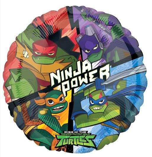 Balão Tartarugas Ninja Power - 43cm