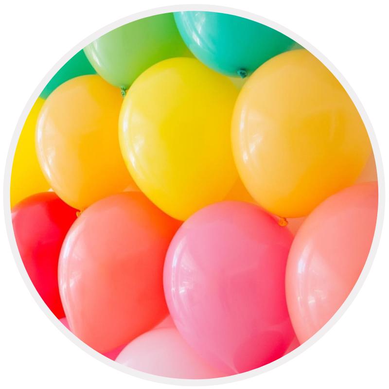 Balões Latex Lisos