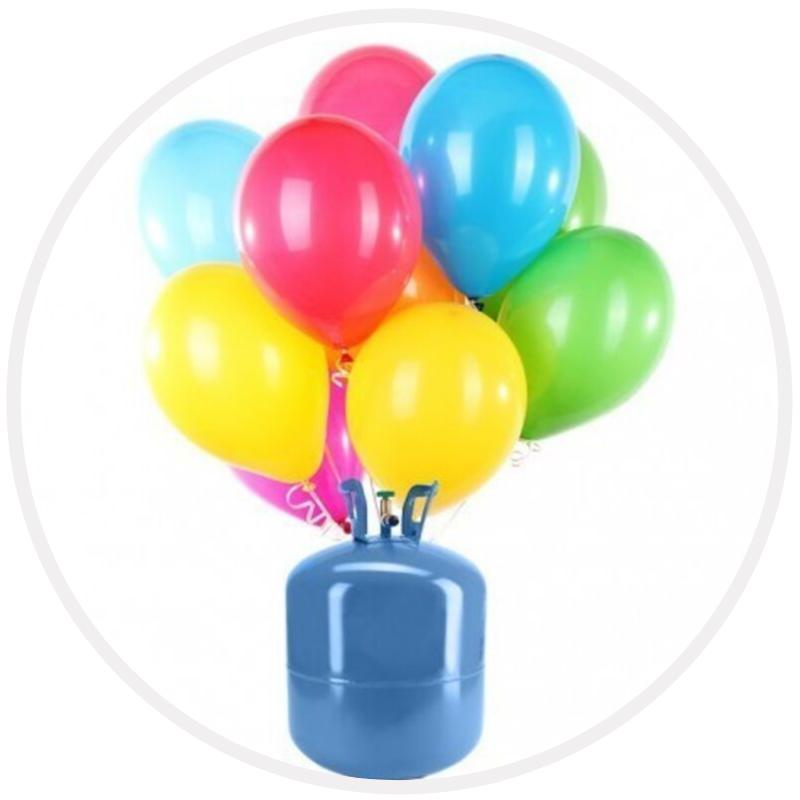 Hélio - Enchimento de Balões