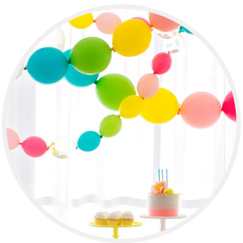 Artigo para decoração de festa Balões Latex Sistema Link