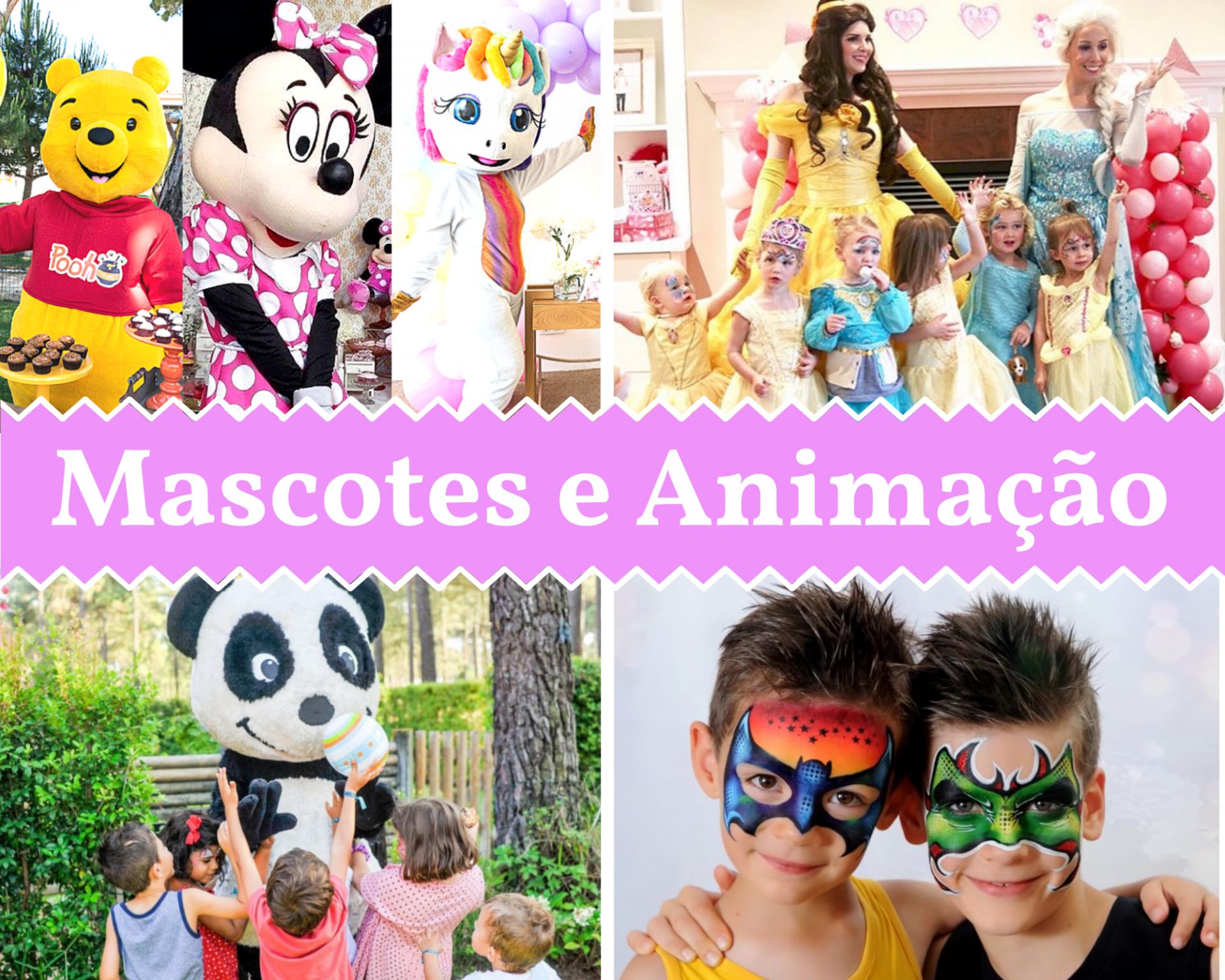 Mascotes e Animação Frontpage