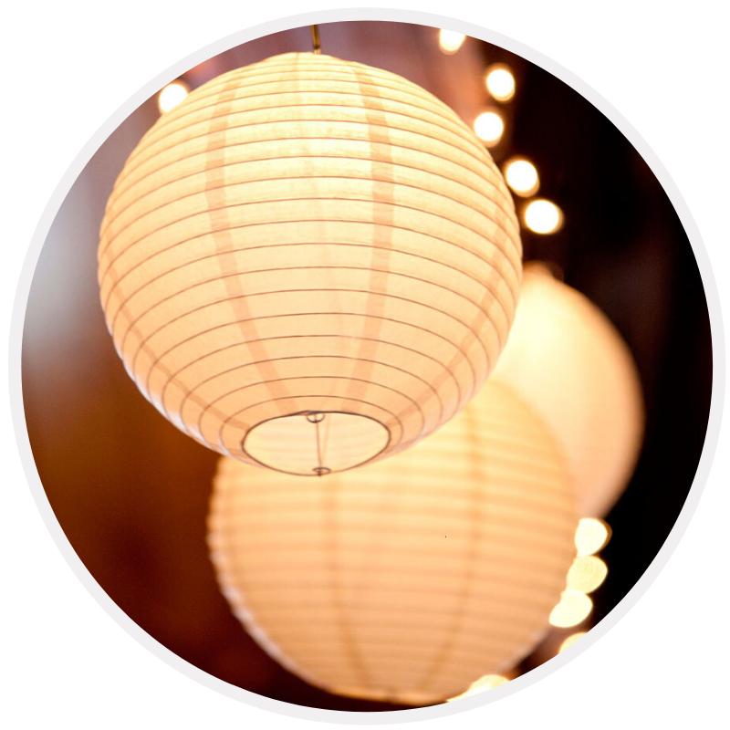 Lanternas Papel