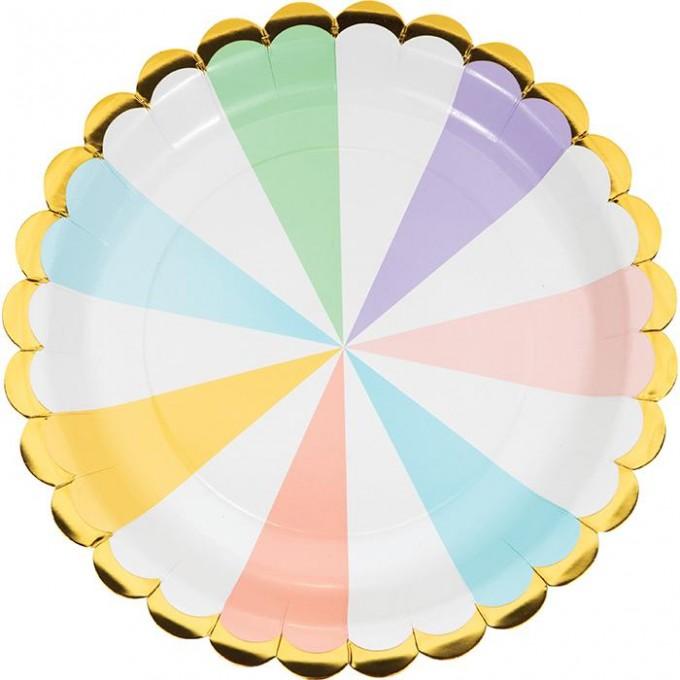 pratos riscas pastel