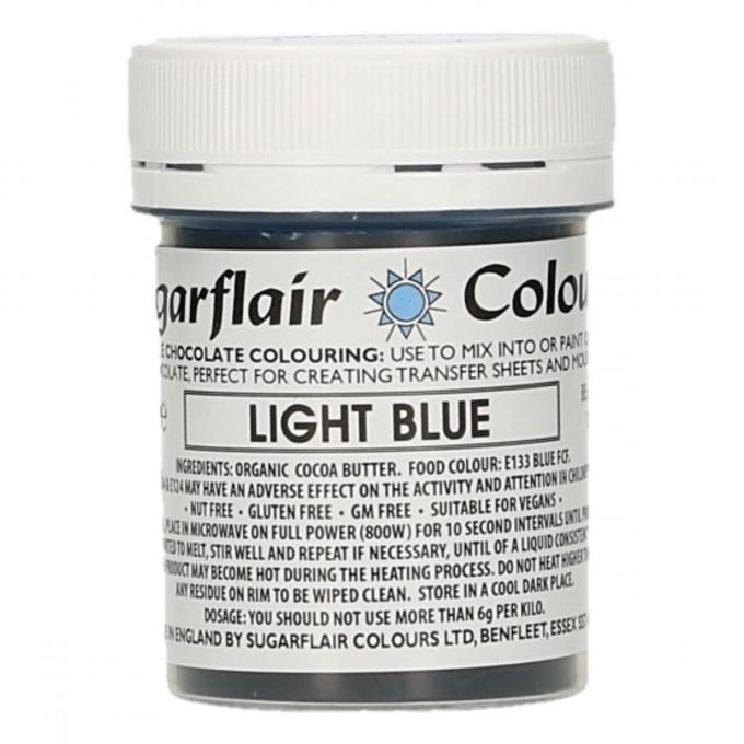 Corante Chocolate Sugarflair Azul Claro 35Gr