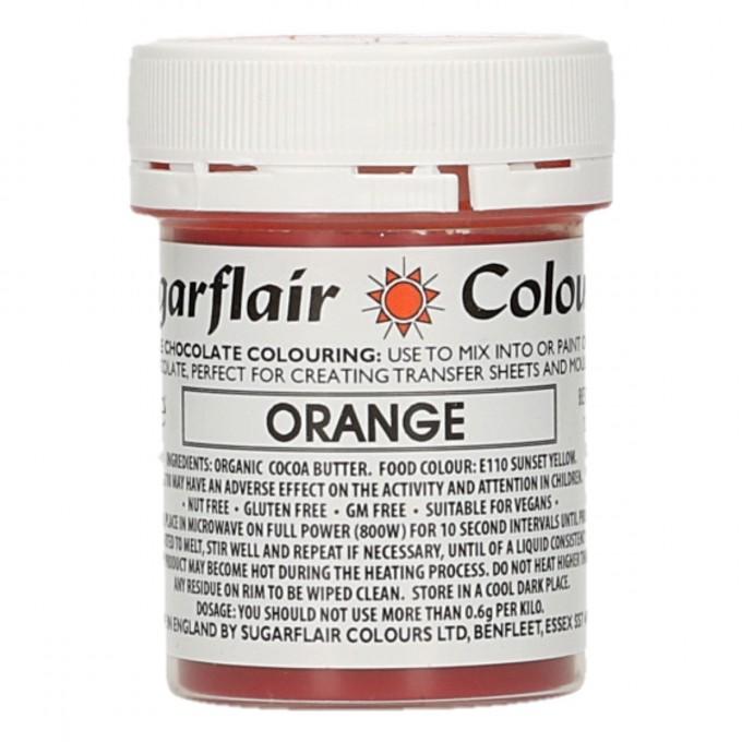 Corante Chocolate Sugarflair Laranja 35Gr