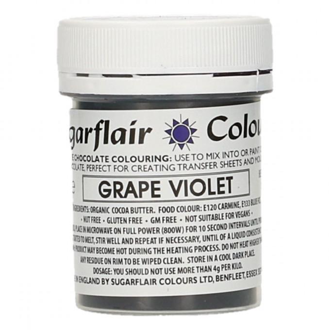 Corante Chocolate Sugarflair Violeta 35Gr 1