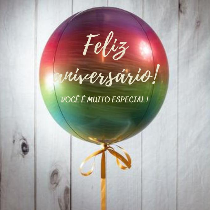 balão personalizado Orbz 4