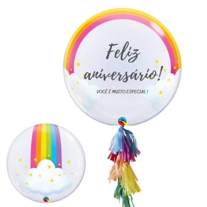 balão personalizado temático