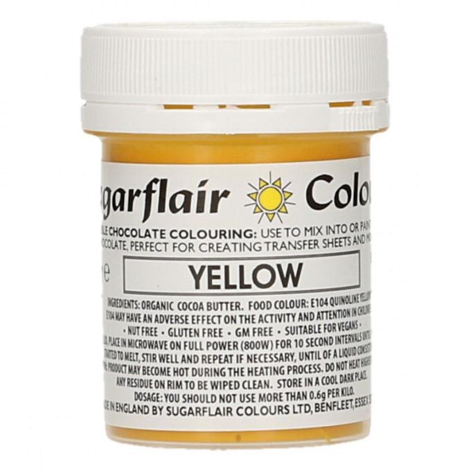 Corante Chocolate Sugarflair Amarelo 35Gr