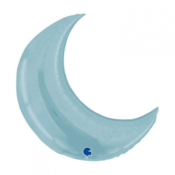 balao lua azul claro