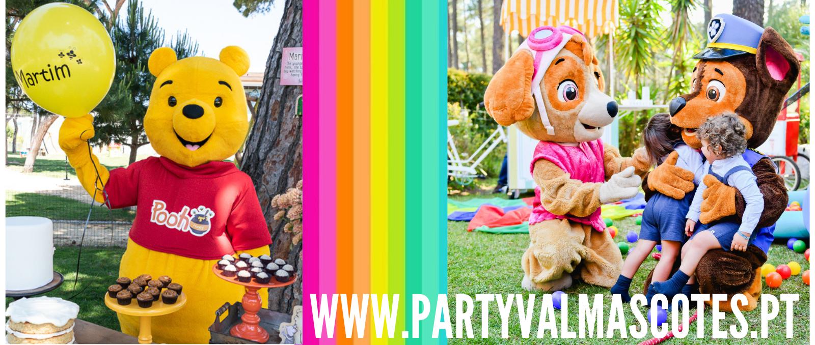 partyval mascotes