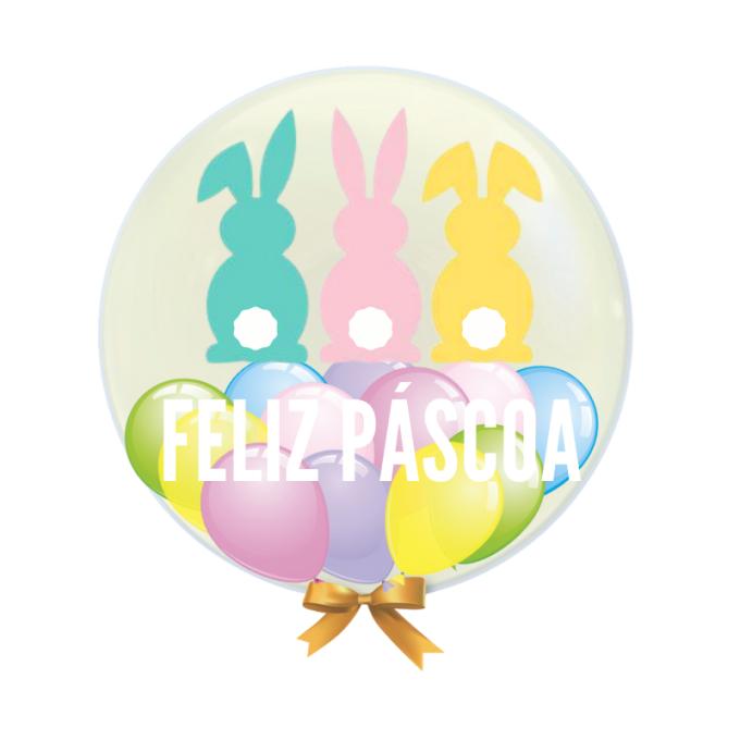 balão personalizado Pascoa 1