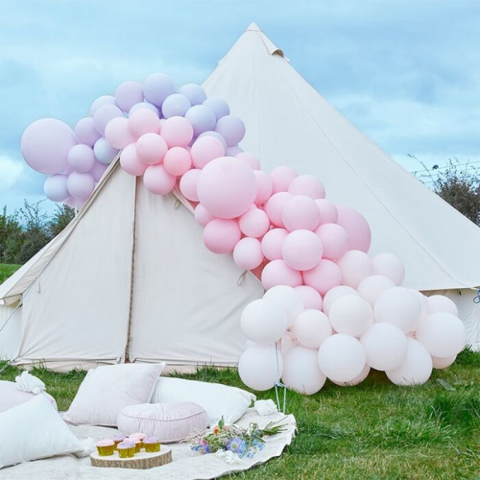 ba 321 large pink and purple balloon arch min