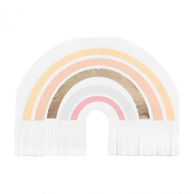 hap 114   gold foiled rainbow fringe napkins   cut out min