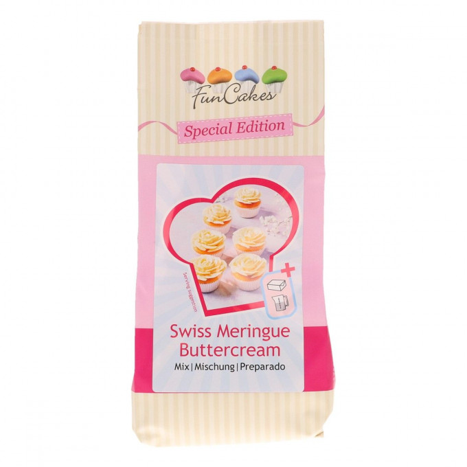 Preparado Swiss Meringue Buttercream 400g 1