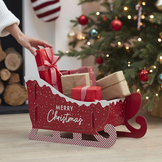 mry 122   christmas present sleigh