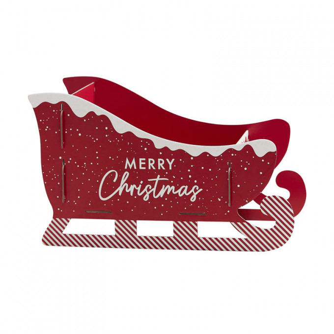 mry 122   christmas present sleigh   cut out